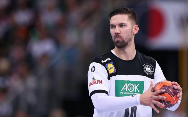 Fabian Wiede wird dem DHB-Team bei der Europameisterschaft 2020 fehlen