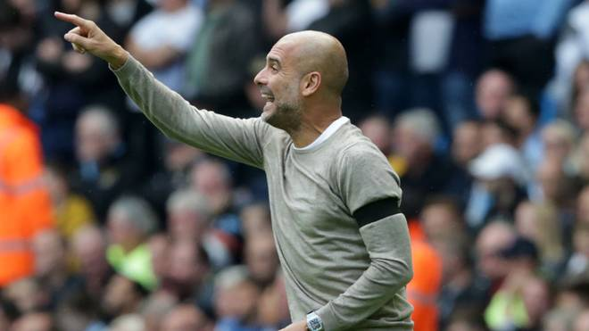 Pep Guardiola ist Trainer bei Manchester City