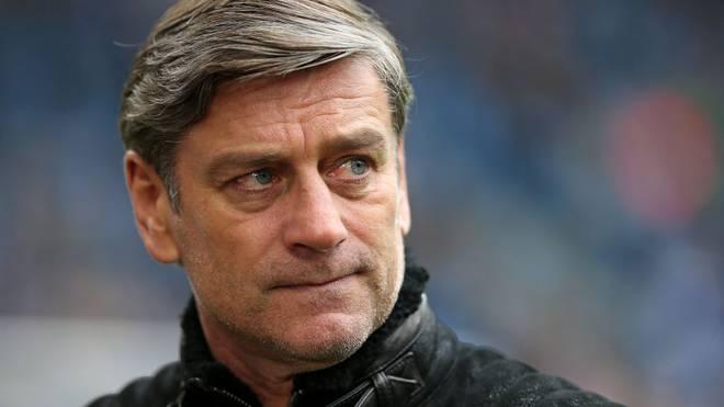Auch Sportdirektor Oliver Kreuzer durchlebt mit dem Karlsruher SC eine schwere Zeit