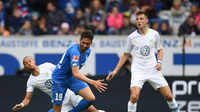 Wolfsburg trifft am Montagabend auf Hoffenheim