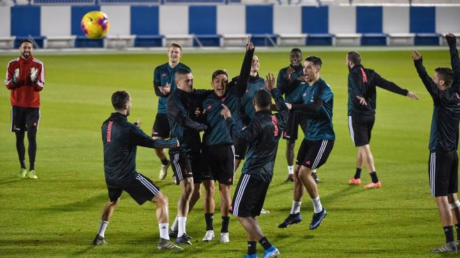 Das Juventus-Training steigt vorerst ohne die U23