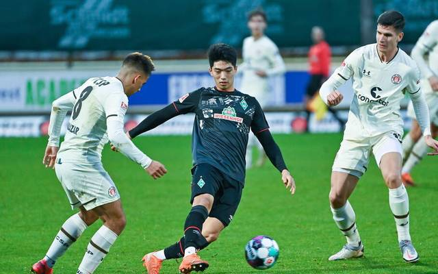 Kyu-Hyuh Park und Werder Bremen unterlagen im Testspiel dem FC St. Pauli