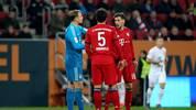 Mit viel Mühe setzte sich der FC Bayern beim FC Augsburg knapp mit 3:2 durch