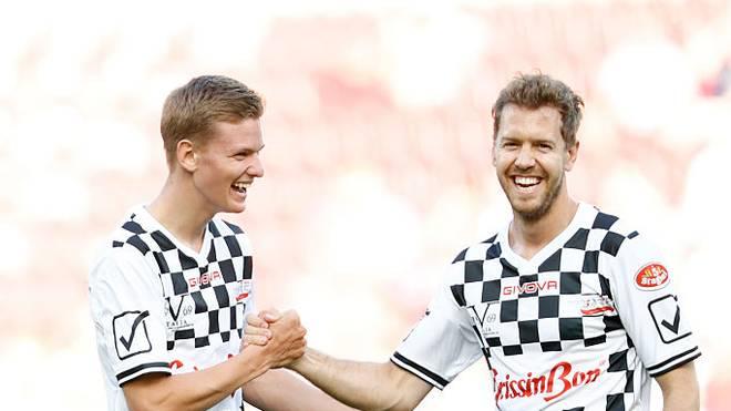 Mick Schumacher sieht Sebastian Vettel als Mentor