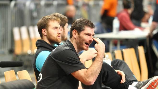 Henning Fritz wurde 2007 Handball-Weltmeister mit Deutschland -. und gibt nun sein Überraschungscomeback mit 46 Jahren bei der SG Flensburg