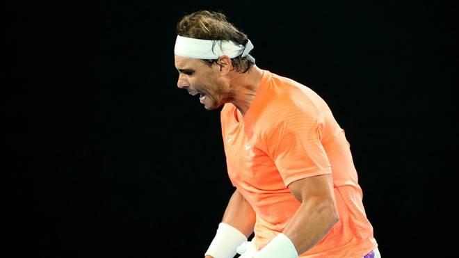 Rafael Nadal zieht bei Australian Open ins Achtelfinale ein