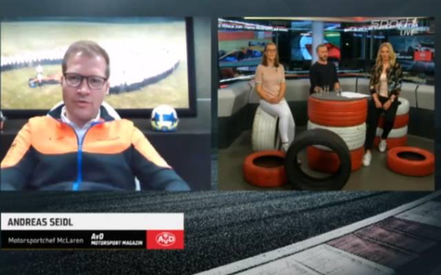 McLaren-Teamchef Andreas Seidl spricht im AvD Motorsport Magazin über Stallorder und Nachwuchsförderung