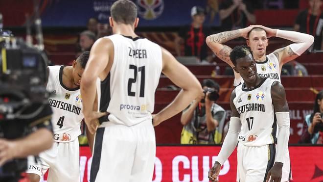 Die deutschen Basketballer blamierten sich bei der WM mit dem Aus in der Vorrunde