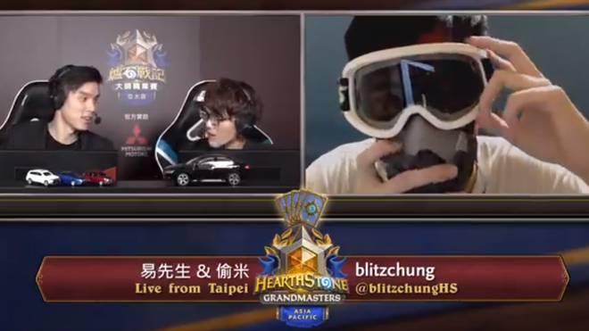 """Aufgrund seiner Äußerungen zu den Demonstration in Hong Kong, wurde der Hearthstone-Profi """"Blitzchung"""" für ein Jahr von Blizzard gesperrt."""