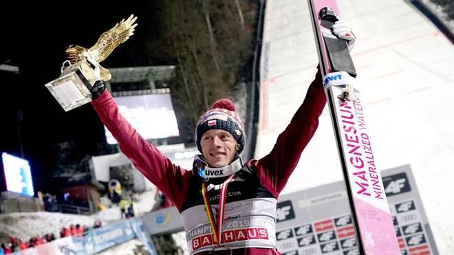 Dawid Kubacki hat die Vierschanzentournee gewonnen