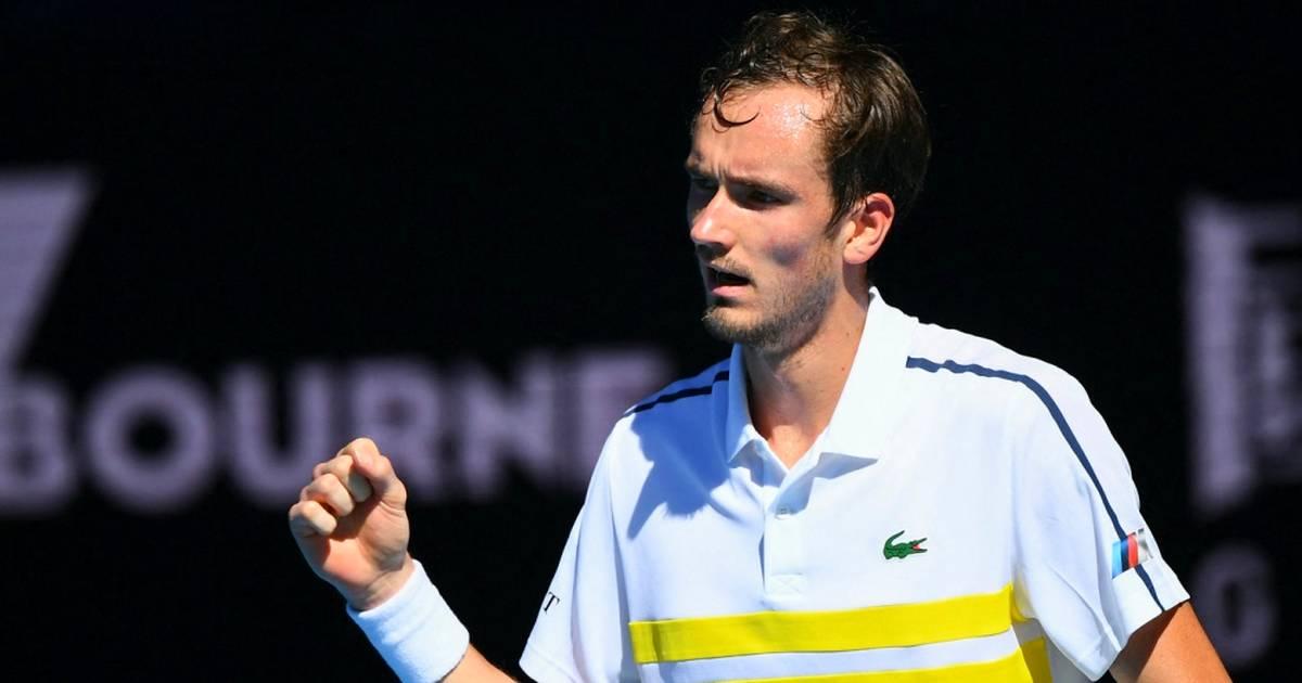 Australian Open: Daniil Medvedev nach Sieg gegen Rublev im Halbfinale - SPORT1