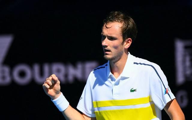 Daniil Medvedev reitet weiter auf einer Erfolgswelle bei den Australian Open