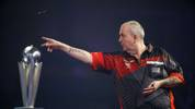 """The Power"" in Aktion: Seit 2018 ist der große Phil Taylor in Darts-Rente"