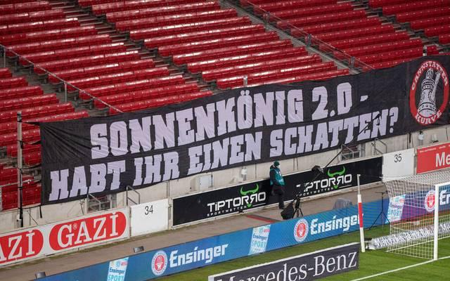 VfB-Fans positionieren sich im Machtkampf zwischen Hitzlsperger und Vogt