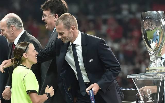 Stephanie Frappart pfiff den UEFA-Supercup 2019
