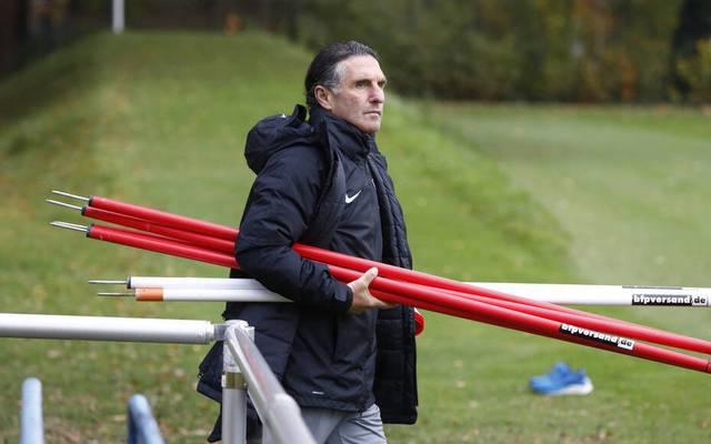 Bruno Labbadia braucht Punkte mit der Hertha