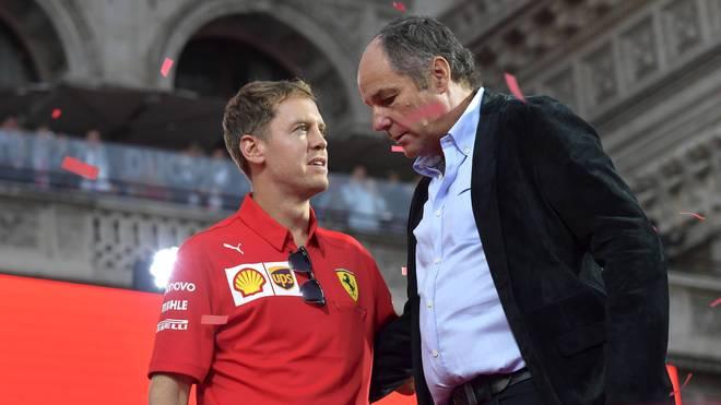 Gerhard Berger fühlt mit Sebastian Vettel mit