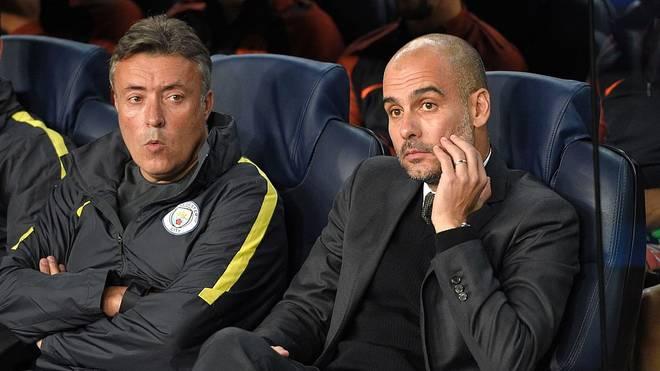 Pep Guardiola ist seit 2016 Trainer bei Manchester United