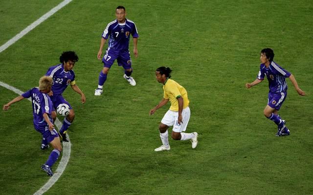 Das WM-Spiel Japan - Brasilien mit Ronaldinho verhalf Sebastian Vettel zum Liebesglück