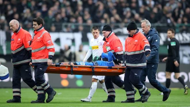 Munas Dabbur hat sich im Spiel bei Borussia Mönchengladbach verletzt