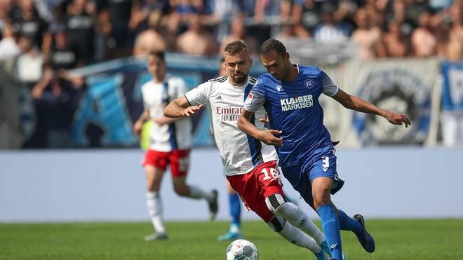 Der Hamburger SV empfängt am 21. Spieltag den Karlsruher SC im Volksparkstadion