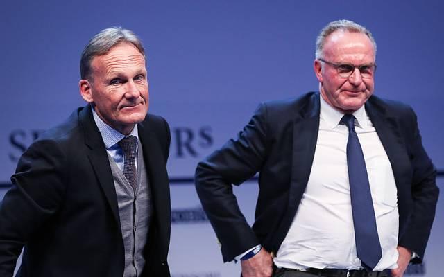 Hans-Joahcim Watzke und Karl-Heinz Rummenigge führen ihre Klubs durch schwere Zeiten