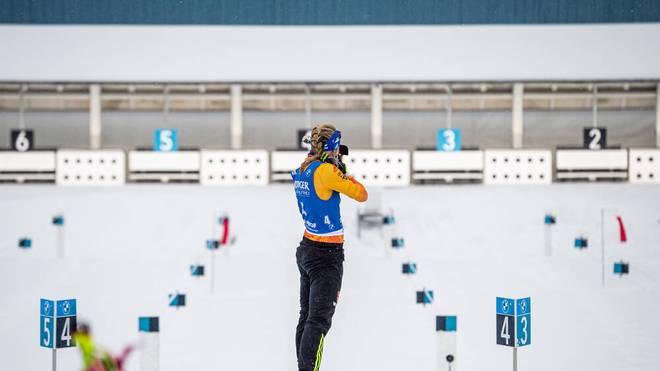 Die deutschen Biathletinnen können beim Sprint in Oberhof nicht glänzen
