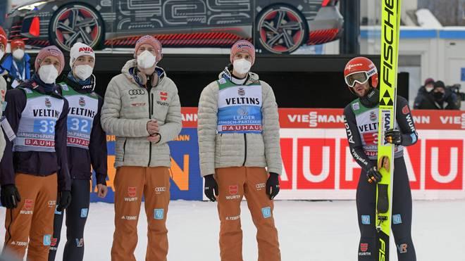 Die deutschen Skispringer bräuchten bei der Tournee ein Wunder