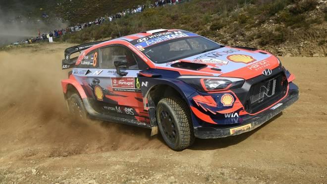 Tänak führt nach dem ersten Tag der Portugal-Rallye