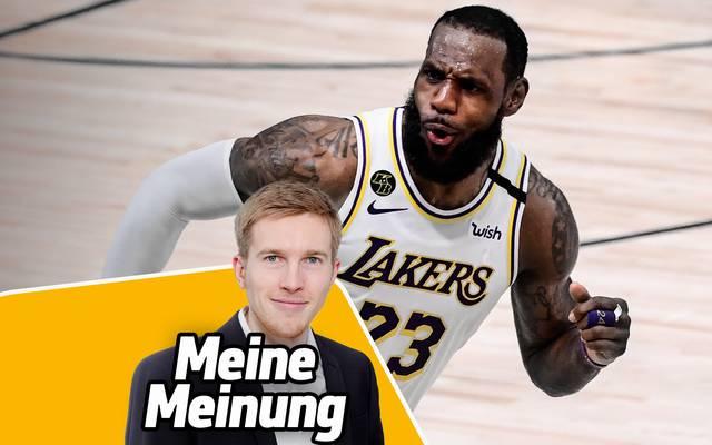 LeBron James gewann mit Miami, Cleveland und den Lakers insgesamt vier Titel