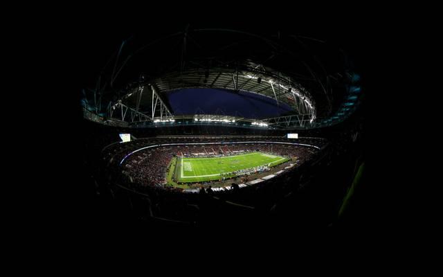 Das Wembley-Stadion wird in der kommenden NFL-Saison wohl keine Spielstätte
