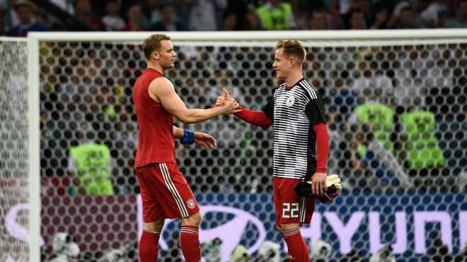 Manuel Neuer und Marc-André ter Stegen kämpfen um das Tor im DFB-Team