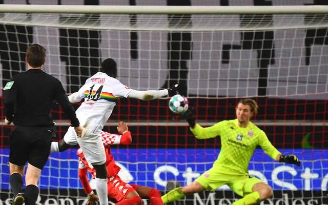 Silas Wamangituka erzielte das 2:0 für den VfB Stuttgart im Duell mit Mainz 05