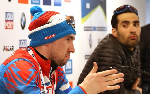 Alexander Loginov steht bei der Biathlon-WM in der Kritik