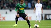MOENCHENGLADBACH, GERMANY - SEPTEMBER 19: Raffael of Moenchengladbach runs with the ball during the UEFA Europa League group J match between Borussia Moenchengladbach and Wolfsberger AC at Borussia-Park on September 19, 2019 in Moenchengladbach, Germany.  (Photo by Christof Koepsel/Bongarts/Getty Images)