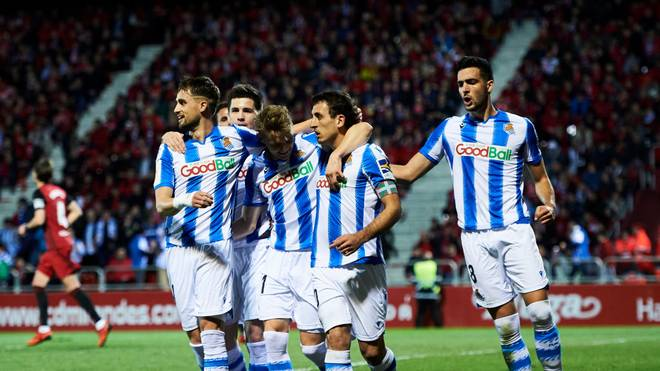 Real Sociedad gewann im Halbfinale der Copa del Rey beide Spiele gegen Mirandés