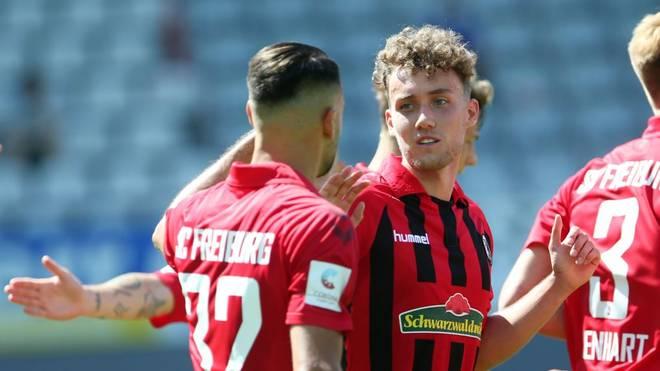 Luca Waldschmidt (r.) steht vor einem Wechsel nach Lissabon