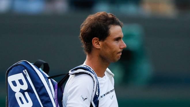 Rafael Nadal hat seine Teilnahme am ATP-Mastersturnier in Shanghai verletzungsbedingt abgesagt
