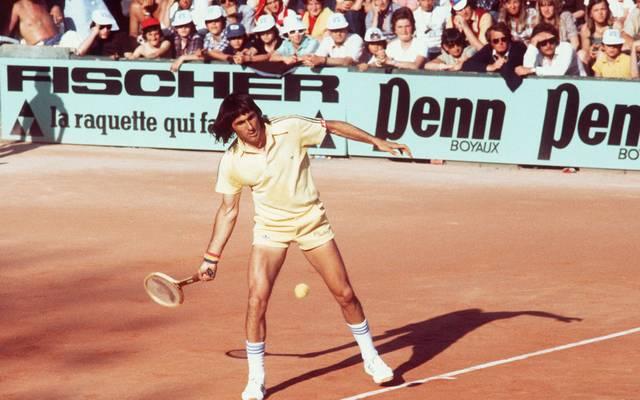 Ilie Nastase 1977
