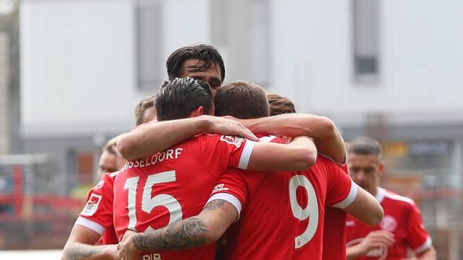 Fortuna Düsseldorf gewann 2:1 in Darmstadt