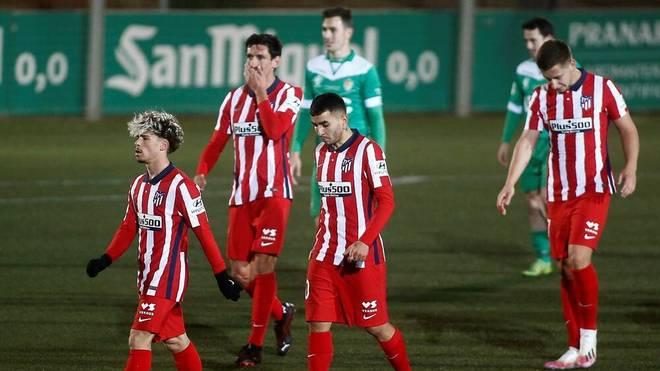 Atlético Madrid scheiterte an UE Cornella