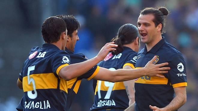 Guillermo Marino (rechts) tischte seinen Teamkollegen eine bizarre Ausrede auf