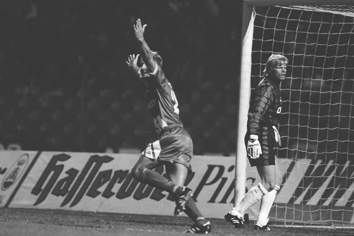 Am 14. August 1994 - heute vor 25 Jahren - machte sich Roland Stein unsterblich: Dank seinem Tor gelang dem TSV Vestenbergsgreuth in der 1. Runde des DFB-Pokals die Sensation gegen den FC Bayern