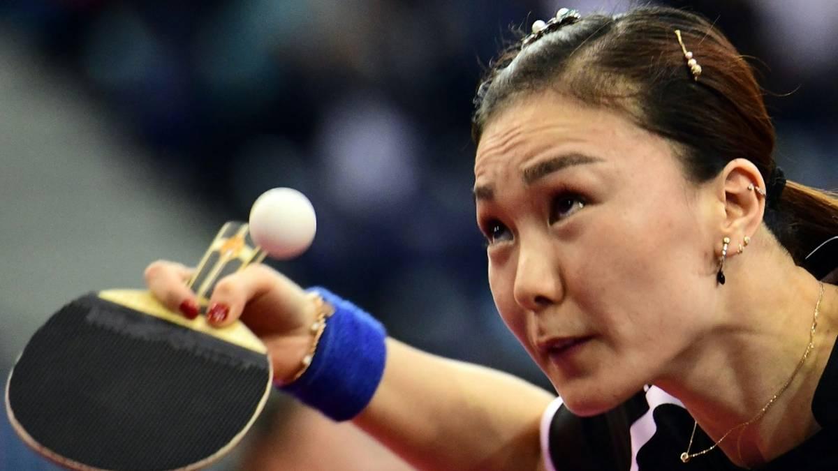 Nationalspielerin Shan Xiaona