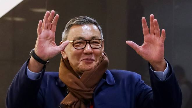 Gafur Rachimow hat seinen Rücktritt als Präsident des Box-Weltverbandes AIBA verkündet