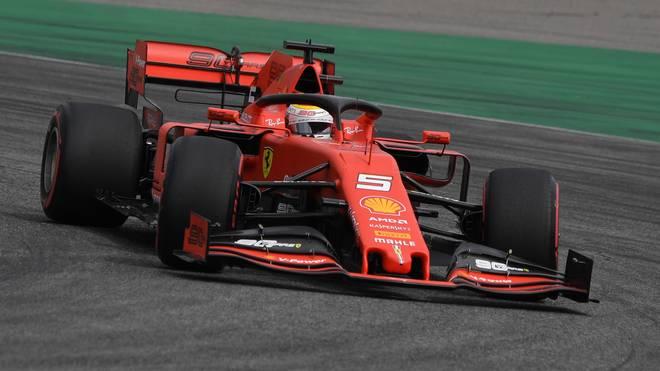 Sebastian Vettel muss bei seinem Heim-GP von ganz hinten starten