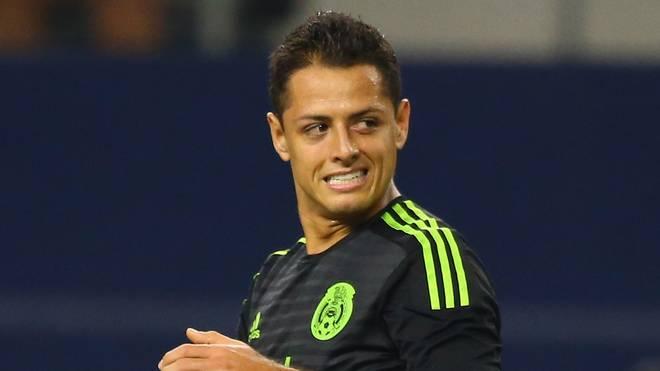 Chicharito war für Mexiko gegen Argentinien im Einsatz