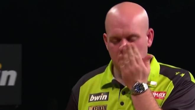 Michael van Gerwen hat die Titelverteidigung beim Grand Slam of Darts verpasst
