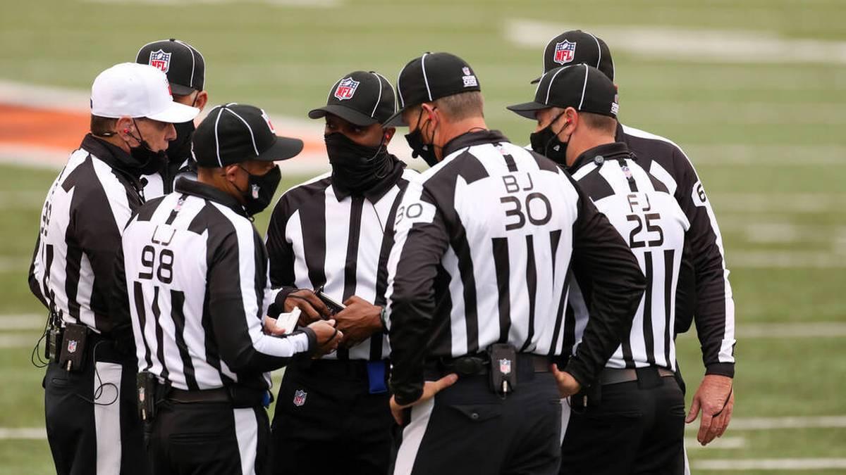 NFL Begriffe: Das NFL Lexikon der Schiedsrichter.