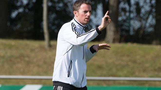 Meikel Schönweitz ist seit Juli 2014 Trainer der U-16-Nationalmannschaft
